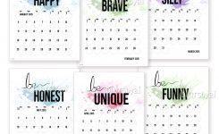 Diy Printable Calendar Printable Calendar Templates 2019