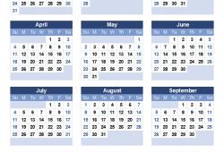 2021 And 2021 Calendar Printable