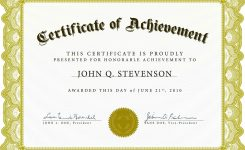Download Blank Certificate Template X3hr9dto St Gabriels Youth