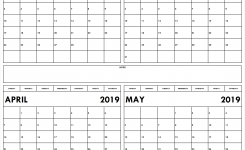 Download Blank February To May 2019 Calendar Printable Free Calendars