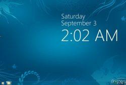 Desktop Wallpaper Clock Calendar Free Download
