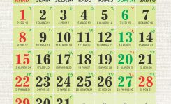 Download Kalender 2017 Islami Download Template Kalender 2013 Gratis