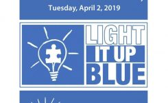 Dress It Up Blue On April 2 In Celebration Of Autism Awareness Day