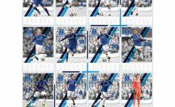 Everton Fc A3 Calendar 2018 Calendar Club Uk