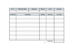 Excel Quotation Template Spreadsheets For Small Business With