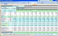 Excel Spreadsheet For Small Business Income And Expenses Template