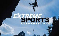 Extreme Sports Calendar 2018 Calendar Club Uk