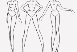 Fashion Drawing Figure Templates