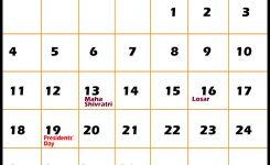 February 2018 Calendar With Holidays Idealvistalistco