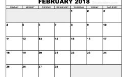 February 2018 Printable Calendar February 2018 Calendar 2 Vruqnf
