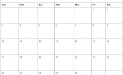 February 2019 Free Printable Calendar