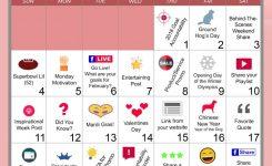 February Marketing Ideas February Marketing Calendar All In One