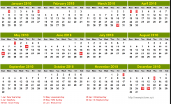 Finland Calendar 2018 4 Newspicturesxyz