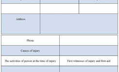 First Aid Incident Report Example Underbergdorfbibco