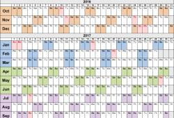 Ge Fiscal Year Calendar