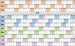 Fiscal Year Calendar Incepimagine Exco