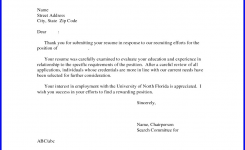 Follow Up Email After Interview Example No Response Sample Cover