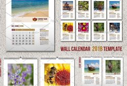 Free 2018 Wall Calendar By Mail