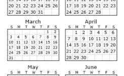 Free 2020 Printable Calendar Customise Your 2020 Calendar