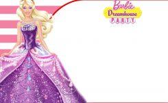 Free Barbie Birthday Invitation Free Printable Birthday