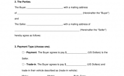 Free Bill Of Sale Forms Pdf Word Eforms Free Fillable Forms