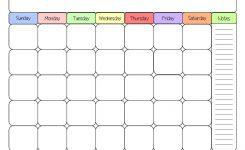 Free Blank Calendar Printable Free Editable Calendar Printable
