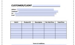 Free Blank Invoice Templates In Pdf Word Excel