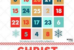 Free Christian 2018 Christmas Calendar For Cards