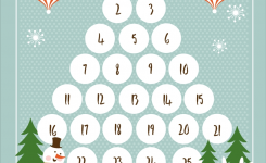 Free Christmas Countdown Printable Download And Use This Cute And