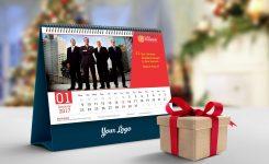 Free Desk Calendar Mockup Psd 2018 Good Mockups