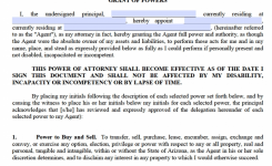 Free Durable Power Of Attorney Arizona Form Pdf