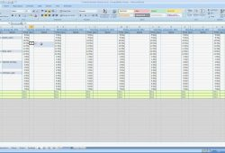 How To Create A Appointment Calendar In Excel