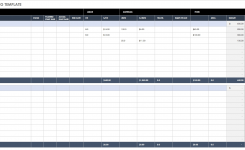 Free Financial Planning Templates Smartsheet