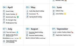 Free Marketing Calendars 2017 Plumrocket Inc Blog