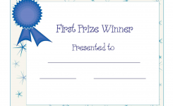 Free Printable Award Certificate Template Free Printable First