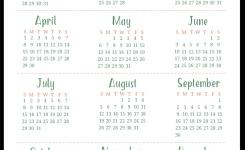 Free Printable Calendar 2018 Year Printable Calendar Templates 2018