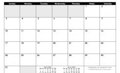 Free Printable Calendar – Printable Monthly Calendars