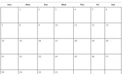 Free Printable Calendars 2018 Monthly Hospinoiseworksco