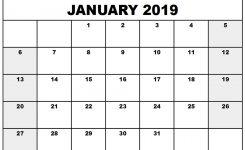 Free Printable Calendars Com 2019 2019 Year Printable Calendar New