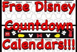 Vacation Countdown Calendar Printable
