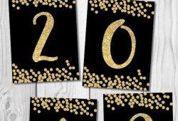New Year 2021 Printable