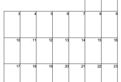November Trend Arrow Calendar 2018 Free Printable
