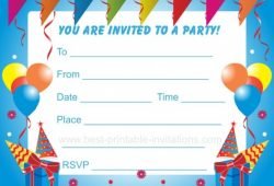 Free  Printable  Kids  Invitations