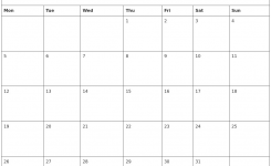 Free Printable October Calendar 2020 October 2020 Free Printable