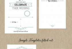 Fall Wedding Invitation Templates Free
