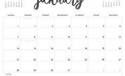 Free Printing Calendar 2018 Flash Design