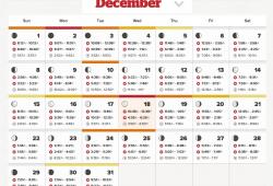 Lunar Calendar Fishing Free
