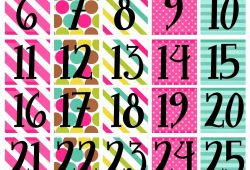 Free Printable Calendar Pieces For Preschool