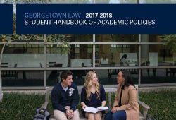 Georgetown Law Academic Calendar