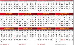 Ghana Calendar 2018 19 Newspicturesxyz